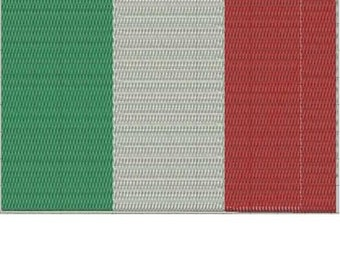 ITALY World Flag Embroidery Design