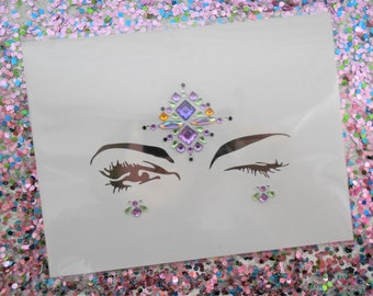Festival Self-Adhesive Face Jewels BF015