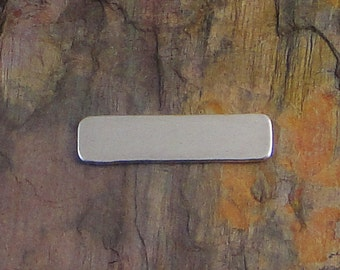 """10 Deburred 18G Aluminum 1/4"""" inch X 1"""" RECTANGLE Stamping Blanks"""