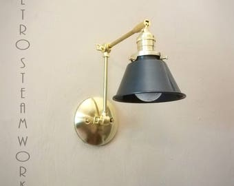 Industrial Articulating Wall Sconce Wall Light