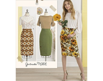 Simplicity Sewing Pattern 8652 Misses' Skirts