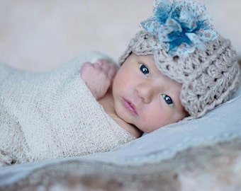 Crochet Pattern for Ashlyn Hat - 6 sizes, baby to adult - Welcome to sell finished items