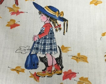 Holly Hobbie Fabric marked American Greeting Vintage