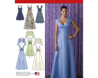 Simplicity Pattern 2442 Special Occasion Dress. Size 6-14. Pattern is new and uncut.