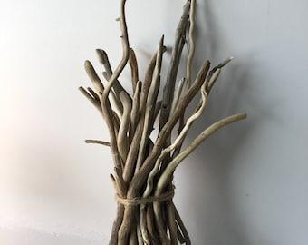 Curly Driftwood Vase Filler Short / Wedding Driftwood / Driftwood Sticks / Home Decor