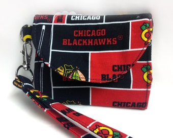 The Champion: Wallet (Chicago Blackhawks Print)