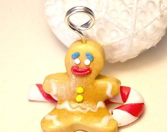 Mark up snowman gingerbread spice d Christmas Fimo, Christmas decoration Christmas table