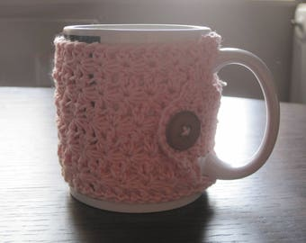 Crochet mug for your cup of tea.