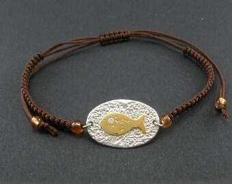 B 65  Handmade sterling silver bracelet
