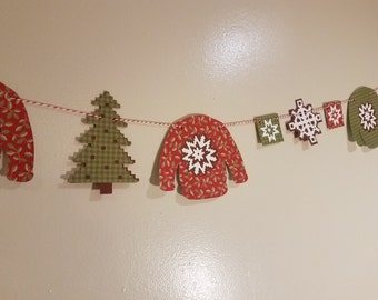 ugly sweater party decorations, ugly christmas sweater party, Ugly sweater banner, holiday party banner, custom banner, custom party