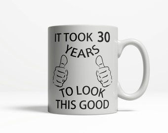 30th Birthday Mug | 1986 Birthday | 30th Birthday Idea 30th Birthday Gift | 1986 Happy Birthday, 30th Birthday Gift for 30 year old 083