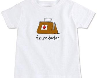 Future Doctor Cotton Toddler T-Shirt