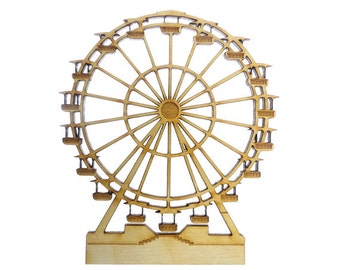 Ferris Wheel Ornament - Ferris Wheel Ornaments - Ferris Wheel Gift - Ferris Wheel Gifts - Ferris Wheel Decor - Personalized Free