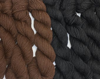 MN grown Alpaca bulky weight yarn.  Natural colors for your next knitting, crocheting or weaving project.
