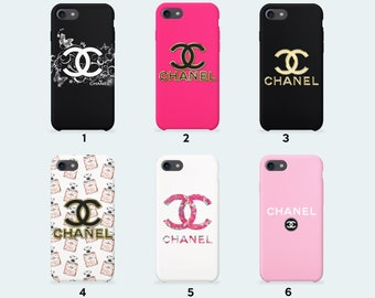 Chanel case for iPhone X iPhone 8 Plus 7 Plus iPhone 6 6S Plus iPhone 5 5S SE Samsung Galaxy S7 Edge S8 Plus