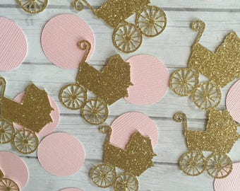 Stroller Confetti - Baby Shower - Table Decoration