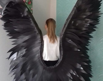 Angel Wings - Angel wings costume - Angel wings props  - Wings photo prop - White wings - Children's wings - Photo Prop - Photography Prop
