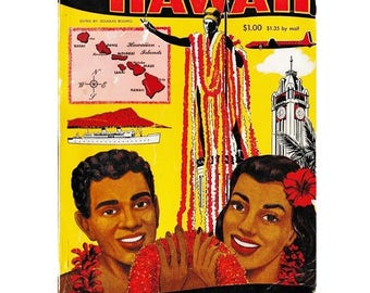 1950's Hawaii Almanac  - All about Hawaii - Thrum's 1957