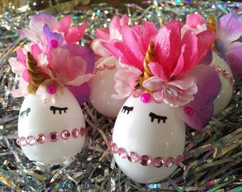 Unicorn Egg Party Favors!! 3 for 8