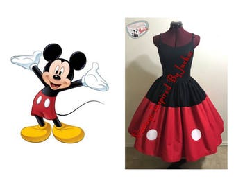 Mickey mouse Disney Bound dress