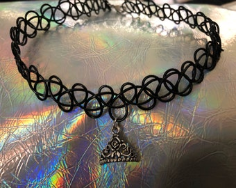 "Tattoo choker ""Princess"""