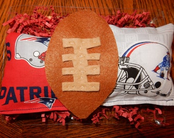 New England Patriots football catnip toys for cats