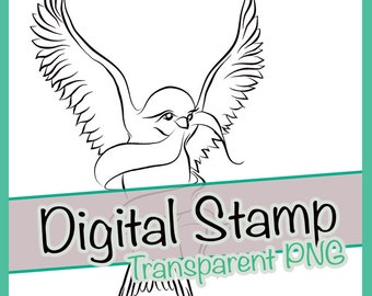 Swallow Bird Clipart Digital Stamp Clip Art Line Drawing Nature Animal Animals Cute Little Flying Tattoo Sash Transparent PNG Scrapbook