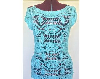 Lace Blouses For Women, Lace Blouse, Blouse, Blouses For Women, Crochet Lace Blouse, Crochet Blouse, Womens Blouses, Crochet Top, Womens Top