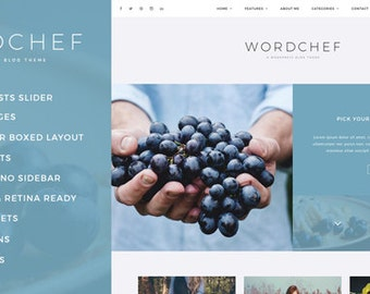 WordChef - WordPress - A Clean & Personal Blog Theme