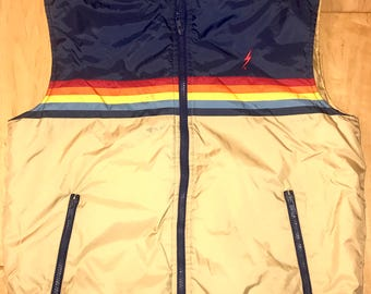 Vintage Lightning Bolt Padded Vest