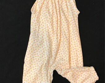 Organic baby girl Boho romper/children clothing/baby rompers/organic baby clothes