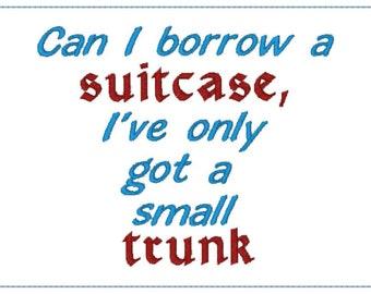 Can I Borrow a Suitcase