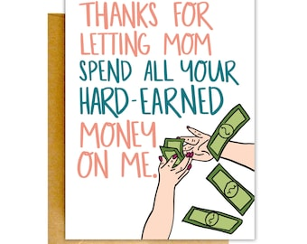 Funny Fathers Day Card, Stepdad Card, Fathers Day Card, Funny Dad Card, Card for Dad, Funny Father's Day, Father's Day Card, Funny Cards