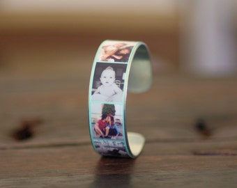 Custom Photo Bracelet, Friendship Gift, Photo Jewelry, Birthday Present, Jewelry Accessories