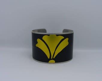 Bearded Iris Cuff Bracelet