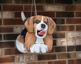 Beagle Dog Birdhouse or Feeder