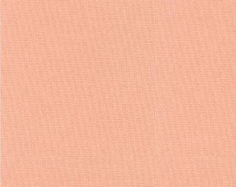 Bella Solid Peach (Pink) Fabric by Moda Basics Fabrics 9900 78 - Priced by the 1/2 yard