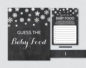 Winter Baby Shower Guess ...