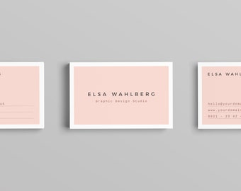 Wahlberg Business Card Template