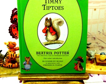 The Tale of Timmy Tiptoes First Edition Bloomsbury Book 1993 Beatrix Potter Childrens Story Ladybird Size