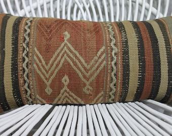 10x20 pastel turkish kilim pillow kilim lumbar pillow 10x20 wool pillow cover anatolian kilim pillow tribal pillow bohemian kilim pillow 956