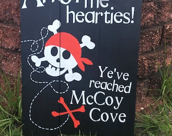 Ahoy me hearties! Pirate themed birthday
