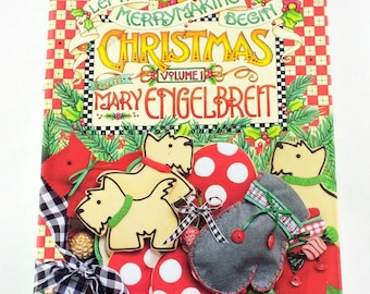 Christmas, Mary Engelbreit, Book, Merry Making, Inexpensive, DIY, Do It Yourself, Handmade Gift, Decorating Ideas, Home Decor, Holiday Decor