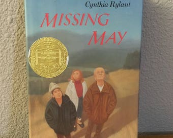 Fourth Printing Hardcover Copy of Missing May, by Cynthia Rylant- 1993 Newbery Medal Award