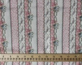 Rose Classic Fabric Quilt Gate MR 16B Pink Stripe