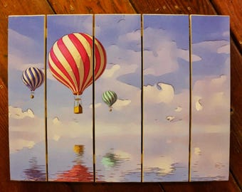 Hot Air Balloon Photo Pallet