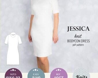 Women sewing pattern pdf / dress pattern / sewing pattern with pdf sewing tutorial XS-XXL plus size / instant download