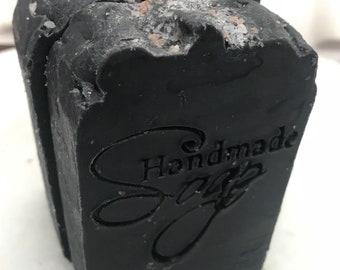100% Natural Charcoal Tea Tree Soap|Acne Soap|Shea Soap|Cold Process Soap|All Natural Soap|Vegetable-Based Soap|Goodskincare