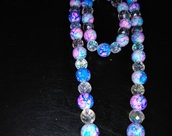 blue and pink beautiful set