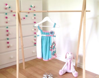 Childrens Clothes Rack, Wooden Clothing Rack, Costume Rack, Clothes Hanger, Clothes Stand, Shop Display, Baby Clothes Rail, Market Display